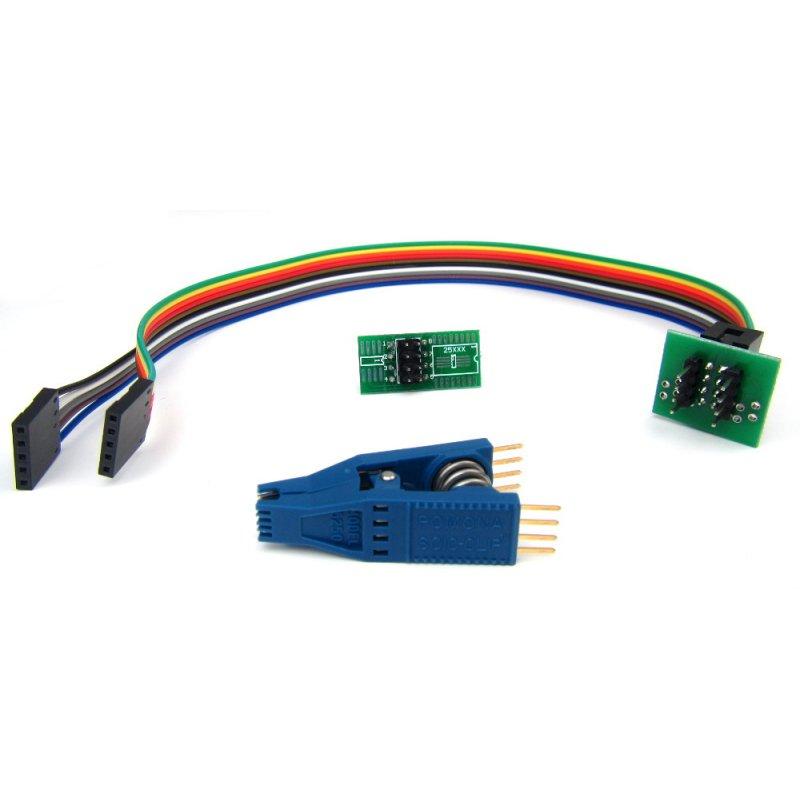 Genuine Pomona SOIC8 SOP8 Chip IC Test Clip Adapter Board TL866