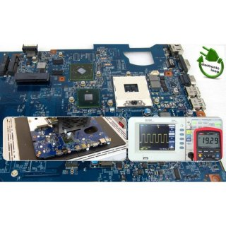 HP ZBook 15U G3 Mainboard Notebook Reparatur 6050A2892401-MB