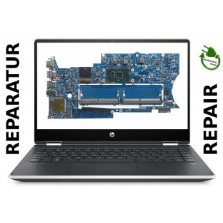 HP Pavilion X360 Mainboard Notebook Reparatur brittle mb 15256-1
