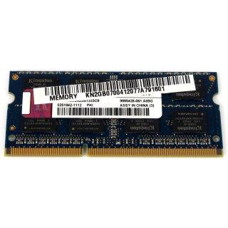 2GB PC3-10600S DDR3 Notebook RAM Arbeitsspeicher Modul