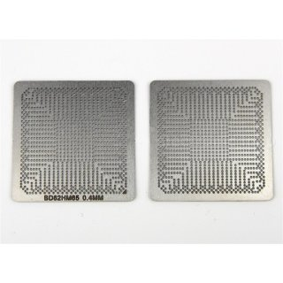 BD82HM65 BD82HM67 BGA Reballing Schablone direkt erhitzbar
