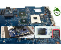 Packard Bell EasyNote LS44H Mainboard Reparatur P7YS0...