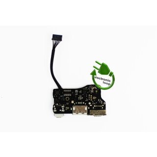 Original Apple MacBook Air 13 A1369 A1466 DC Jack I/O Audio USB Board 820-3455