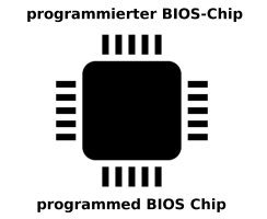 Acer Aspire 7540G BIOS Chip programmiert JV71- MV
