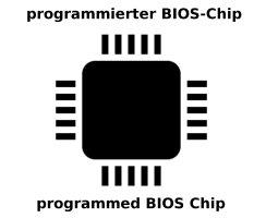 Asus K75VM BIOS Chip EN25Q64 programmiert LA-8222P