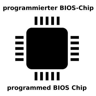 Dell XPS 15 9550 BIOS Chip 25Q128FVSIQ programmiert LA-C361P