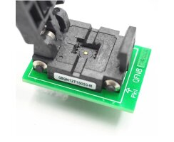 QFN8 to DIP8 Adapter 6x5mm Pitch 1,27mm WSON8 DFN8 MLF8...