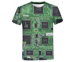 Stylisches Elektronik Mainboard 3D T-Shirt für...