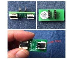 QFN8 zu DIP8 2in1 Adapter 6x5 und 6x8mm WSON8 DFN8 MLF8...
