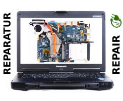 Panasonic Toughbook CF-53 Mainboard Laptop Reparatur